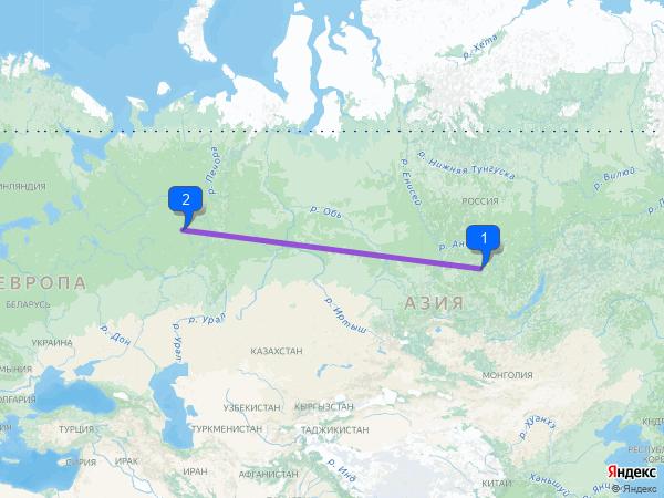 Чунский – Светлополянск