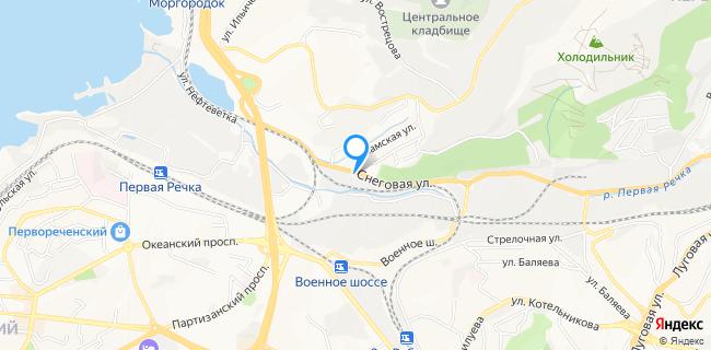 Крузак - Владивосток, ул. Снеговая, 2б