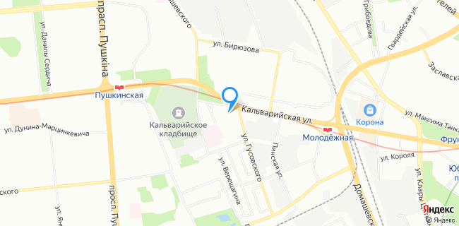 Физкультурно-Оздоровительный комплекс (ФОК) Департамента Белавтодор - Минск, ул. Кальварийская, 37