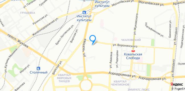Дворец культуры и спорта железнодорожников Бассейн - Минск, ул. Чкалова, 7