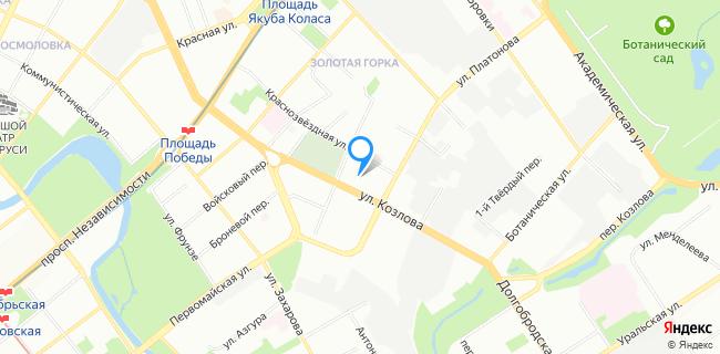 Лазурный Спорткомбинат Стройтрест №1 - Минск, ул. Козлова, 17а