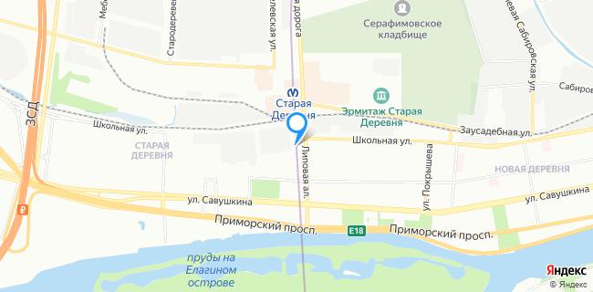 Автостудия OOO - Санкт-Петербург, Липовая аллея, 12
