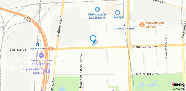 Автоцентр Scart - Санкт-Петербург, ул. Благодатная, 12