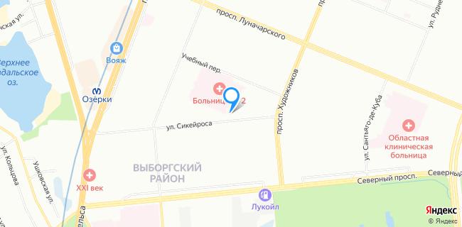 Автосервис МТ-Авто - Санкт-Петербург, ул. Сикейроса, 14
