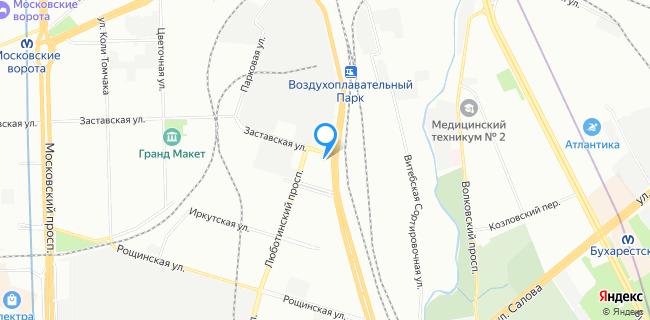Мотор Технологии - Санкт-Петербург, ул. Заставская, 4