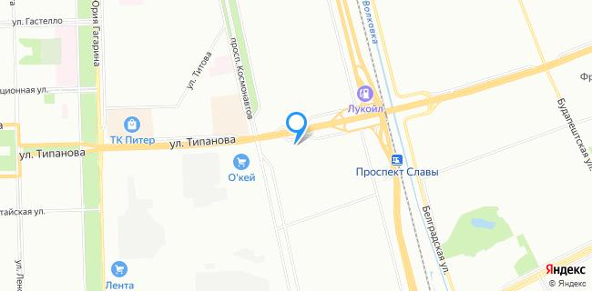 Эльва Моторс - Санкт-Петербург, ул. Типанова, 30