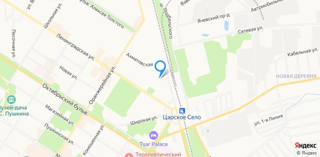 Детская деревня - Санкт-Петербург, Пушкин г., ул. Железнодорожная, 34