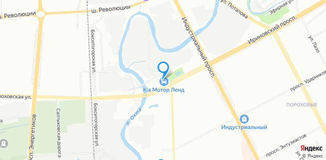 Автоцентр Открытая дорога - Санкт-Петербург, Ириновский просп., 10, литера А