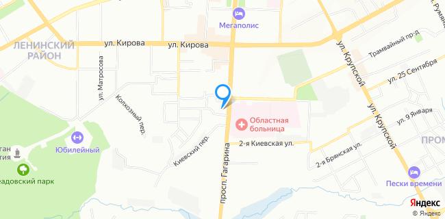 Отделение почтовой связи СМОЛЕНСК 214001 - Смоленск, просп. Гагарина, 46