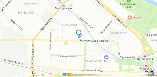 Поликлиника №162 - Москва, ул. Молодогвардейская, 20