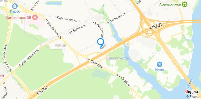 КМ/Ч - Москва, МКАД, 74-й км, вл. 5