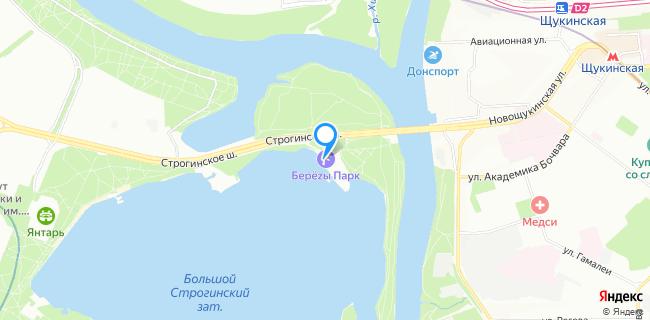 Пляж Super beach - Москва, Строгинское ш., вл. 1