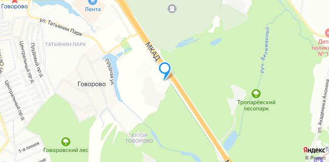 Major Ford - Москва, МКАД, 47-й км