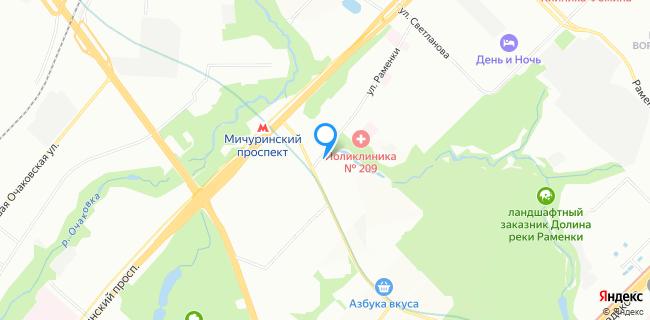 Кволити Моторс - Москва, ул. Удальцова, 60