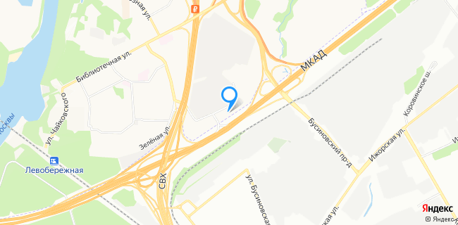 Корея Моторс Север - Москва, МКАД, 78-й км