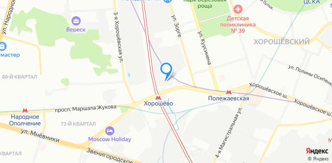Автомобильная Стоянка №135 - Москва, Хорошевское ш., 98