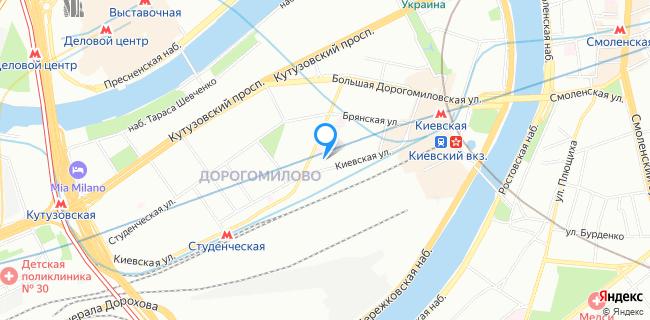 СпецАвтоЦентр ГлавУпДК при МИД России - Москва, ул. Киевская, 8