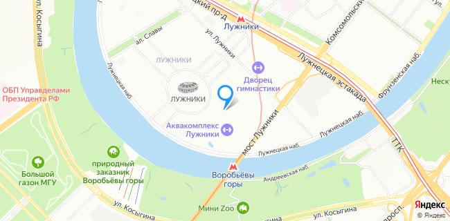 Отделение полиции по обслуживанию олимпийского комплекса Лужники - Москва, Новолужнецкий пр-д, 24