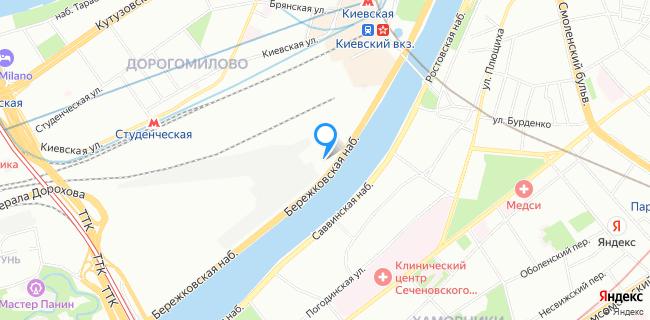 Отделение УФМС по району Дорогомилово - Москва, Бережковская наб., 14