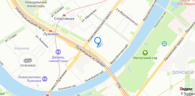 Гемотест - Москва, ул. Хамовнический Вал, 14