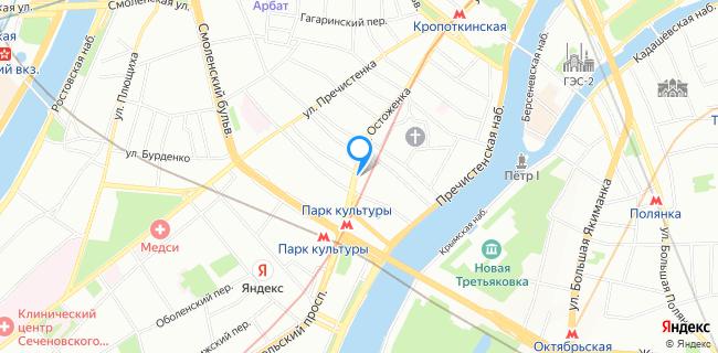 Салон красоты на Остоженке - Москва, ул. Остоженка, 47