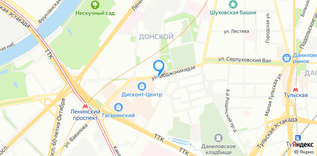 Пицца-фабрика - Москва, ул. Орджоникидзе, 9, корп.1