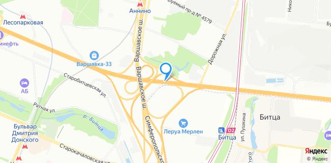 Фольксваген центр Варшавка - Москва, МКАД, 33-й км, внешняя сторона