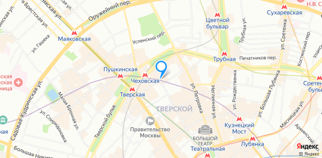 Ресторан Менза - Москва, ул. Дмитровка Большая, 32