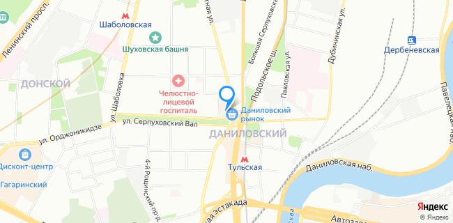 Даниловский рынок - Москва, ул. Мытная, 74