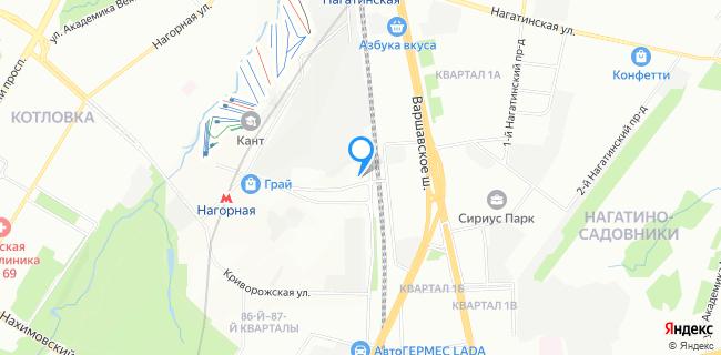 ДК Нагорный - Москва, Электролитный пр-д, 3, корп.1