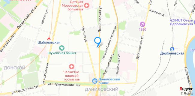 Ткани Высокой Моды - Москва, ул. Люсиновская, 64