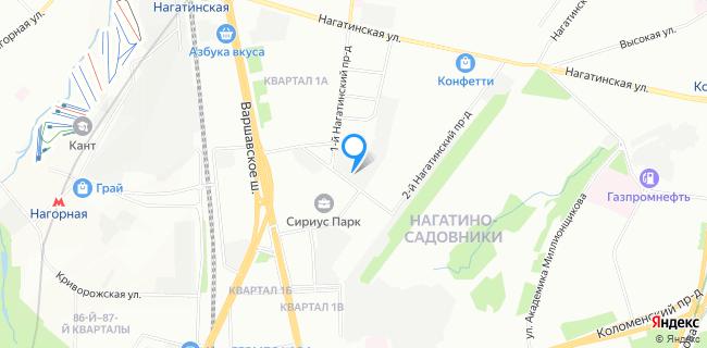 ТЦ Гидравлика - Москва, Нагатинский 1-й пр-д, 15