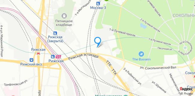 Тойота Центр Сокольники - Москва, ул. Сокольнический Вал, 1л