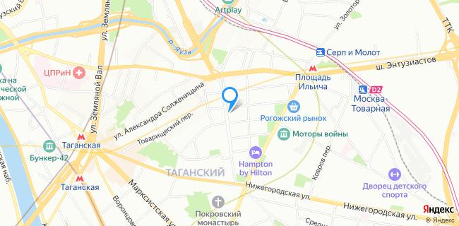Кamtex - Москва, ул. Большая Андроньевская, 7