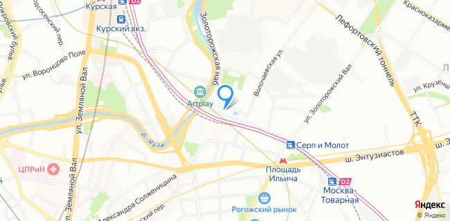 Сервисный центр Юнит - Москва, ул. Волочаевская, 44