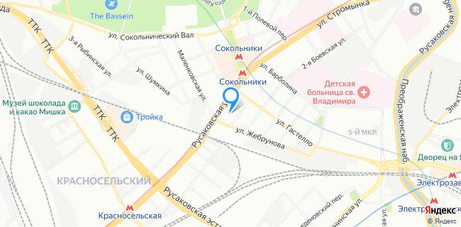 Ресторан Менза - Москва, ул. Русаковская, 22