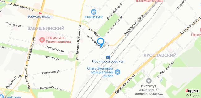 Историко-этнографический театр - Москва, ул. Рудневой, 3