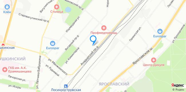 Автомобильная стоянка №120 - Москва, Анадырский пр-д, 37