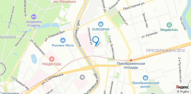 Такси Савелич - Москва, ул. Бухвостова 2-я, 1