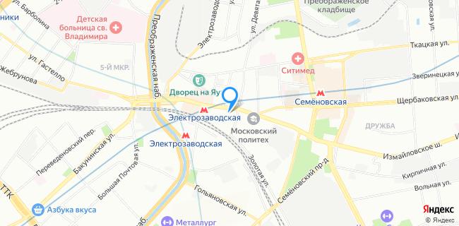 Позвоночник.инфо - Москва, ул. Большая Семеновская, д. 32