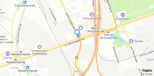 Авто Ганза - Москва, ш. Энтузиастов, 27а