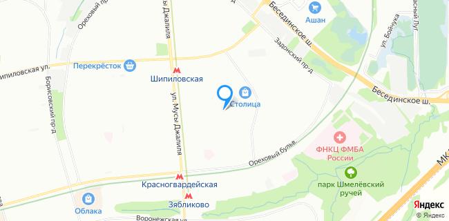 Зябликово опорный пункт Отделения полиции №5 - Москва, бул. Ореховый, 51, корп.2
