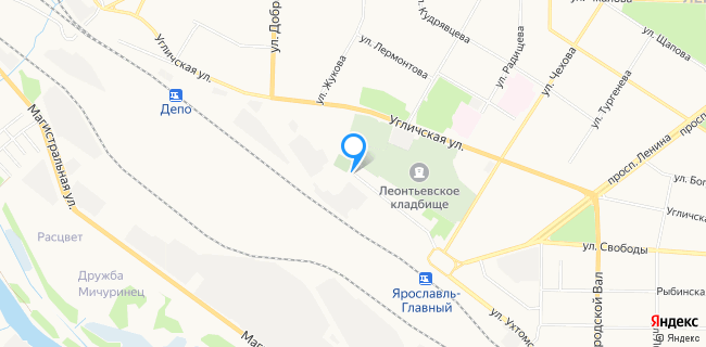Дизельснаб - Ярославль, ул. Павлика Морозова