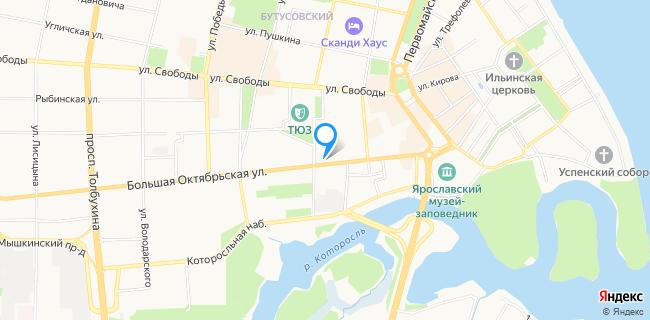 Ньюффорд - Ярославль, ул. Большая Октябрьская, 52а, цокольный этаж