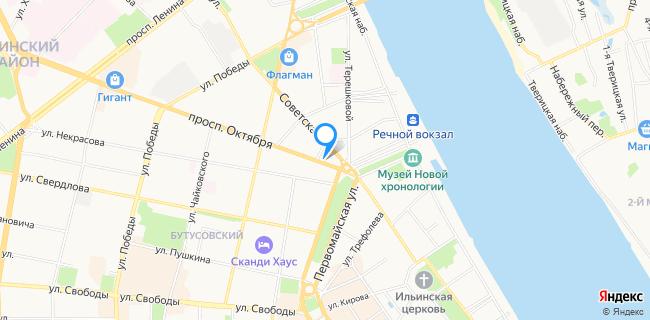 Locator - Ярославль, ул. Советская, 21