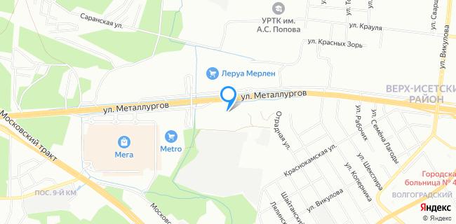 Автоцентр Автобан-Запад - Екатеринбург, ул. Металлургов, 67