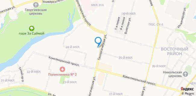 Магазин Мебель - Ханты-Мансийский АО, Сургут г., ул. Геологическая, 17