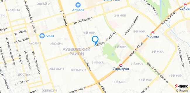 Станция Скорой Медицинской Помощи, подстанция №2 - Алматы, 3 мкр., 42а