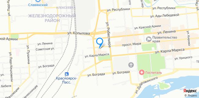 Национальный банк Траст, банкомат - Красноярск, просп. Мира, 115а, стр. 1