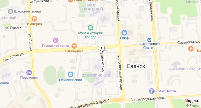 Арендовать коммерческую недвижимость 70 м<sup>2</sup> в Саянске по адресу Россия, Иркутская область, Саянск, Олимпийский микрорайон, 11